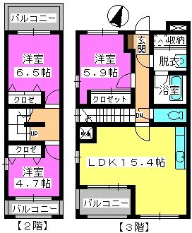 ビ・ザ・ビ・ランドⅡ(ペット共生) / S-302号室間取り