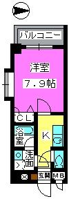 サン・アネックス / 301号室間取り