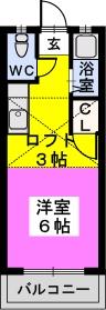 エトワール綾 / 105号室間取り