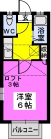 綾の家 / N-101号室間取り