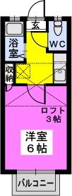 綾の家 / N-205号室間取り