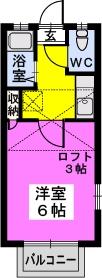 綾の家 / S-208号室間取り