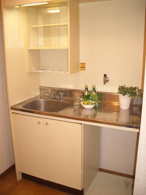 綾の家 / N-101号室キッチン