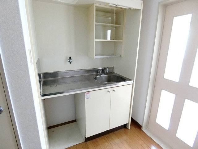 綾の家 / S-108号室キッチン