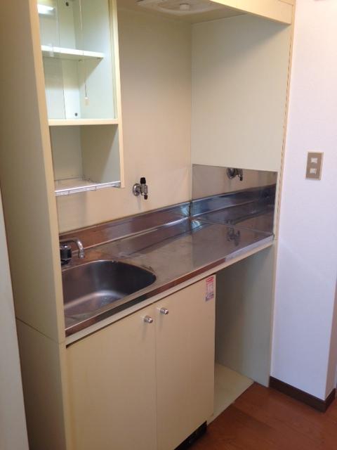 綾の家 / S-205号室キッチン