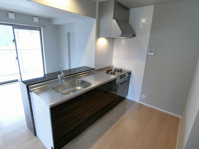 ヴィラ白兎(ハクト) / 403号室キッチン