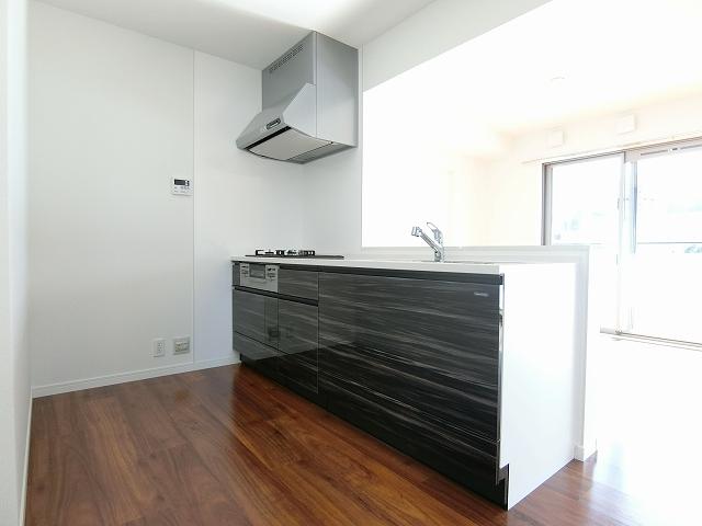 レア・エクロール / 405号室キッチン
