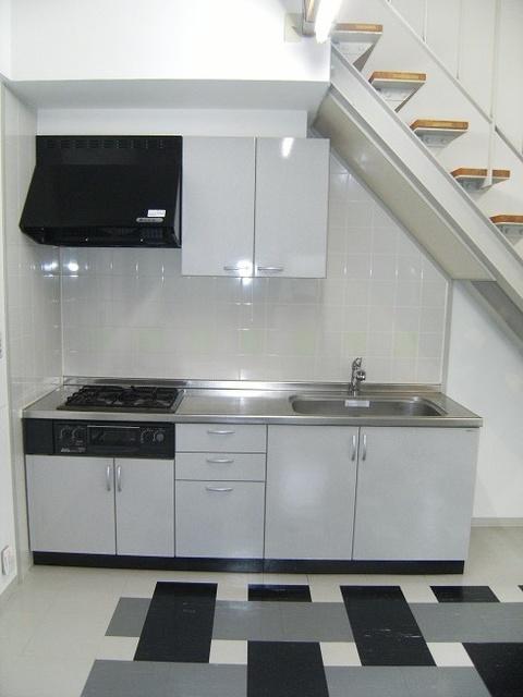ビ・ザ・ビ・ランドⅡ(ペット共生) / W-105号室キッチン