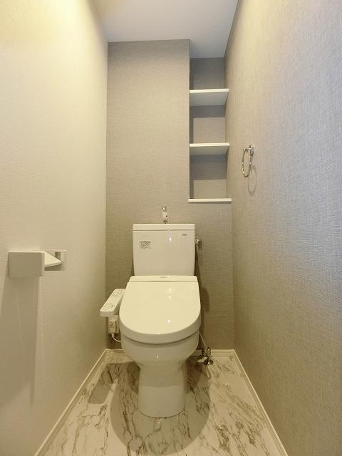 ヴィラ白兎(ハクト) / 402号室トイレ