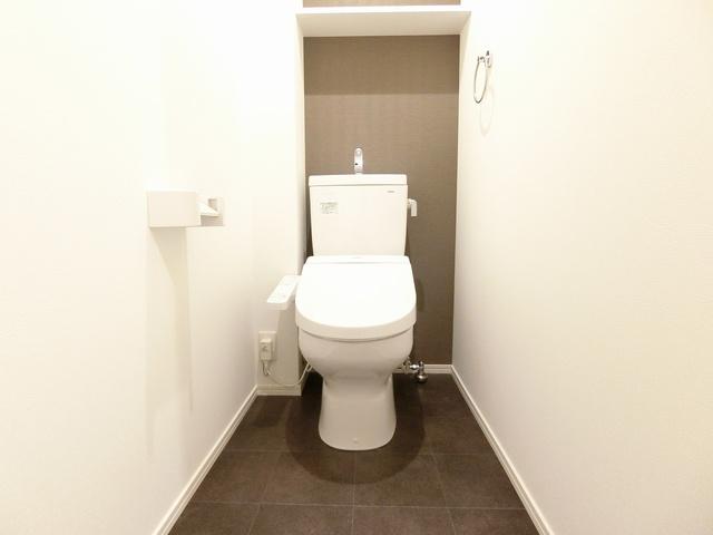 グランドゥール天神 / 606号室トイレ
