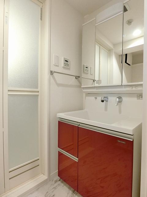 レア・エクロール / 405号室洗面所