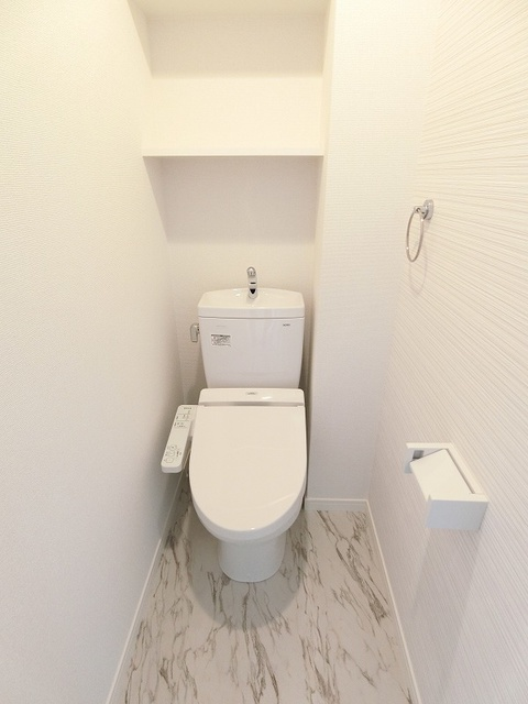 仮)プレアタウン河東 / A-203号室トイレ