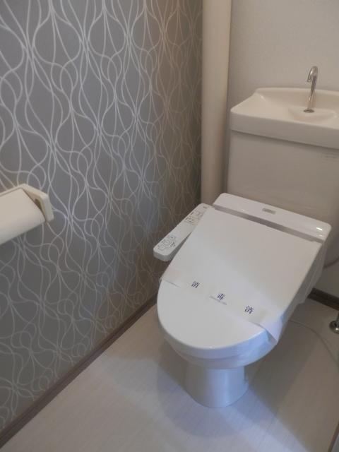 メロディハイツ堺 / 202号室トイレ