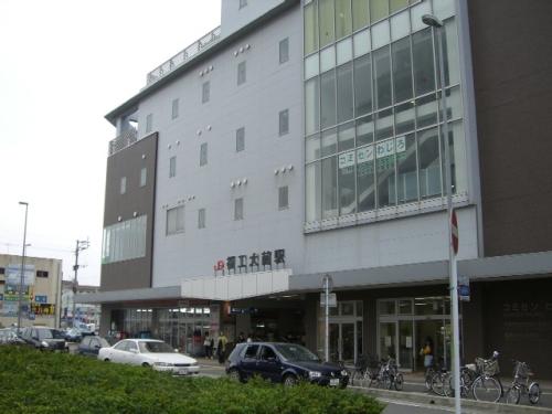 買い物は隣に「ハローデイ」もありますよ♪単身の方もファミリーの方も買い物が便利です♪