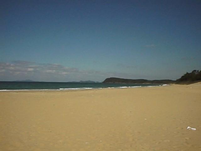 三苫海岸:海も近く、海好きの方にオススメです!!