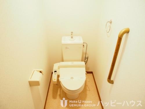 サンリバー博多南Ⅱ / 405号室トイレ