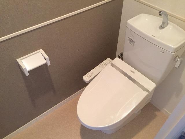 プレジデント正弥久留米駅前 / 305号室トイレ