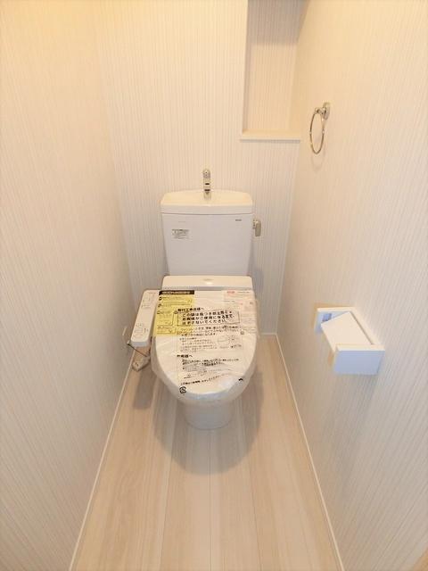 ウェスタ久留米けやき通り / 2-202号室トイレ