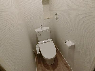 ウェスタ久留米けやき通り / 2-802号室トイレ