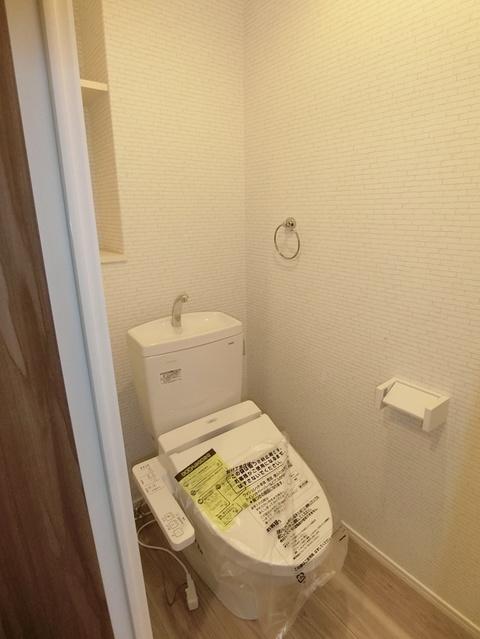 ウェスタ久留米けやき通り / 1-203号室トイレ