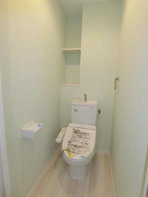 ウェスタ久留米けやき通り / 1-204号室トイレ