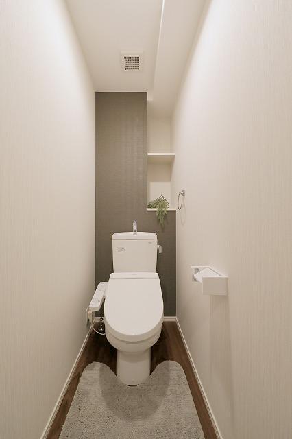 ウェスタ久留米けやき通り / 1-302号室トイレ