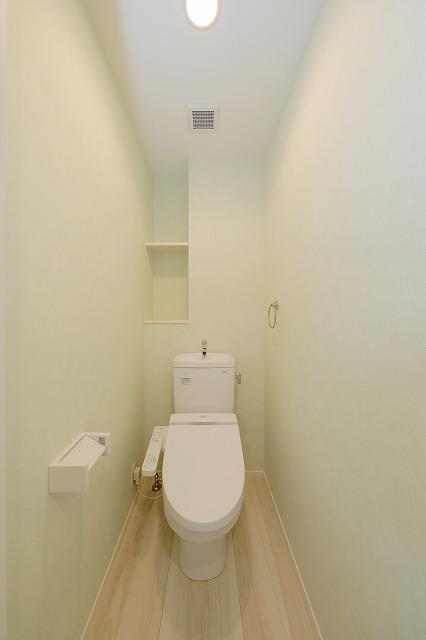 ウェスタ久留米けやき通り / 1-404号室トイレ