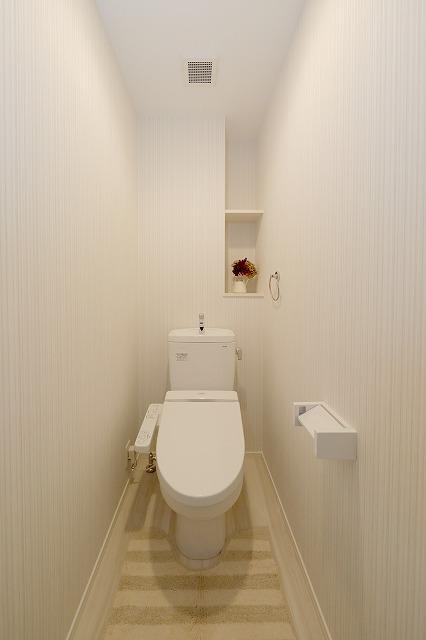 ウェスタ久留米けやき通り / 2-302号室トイレ