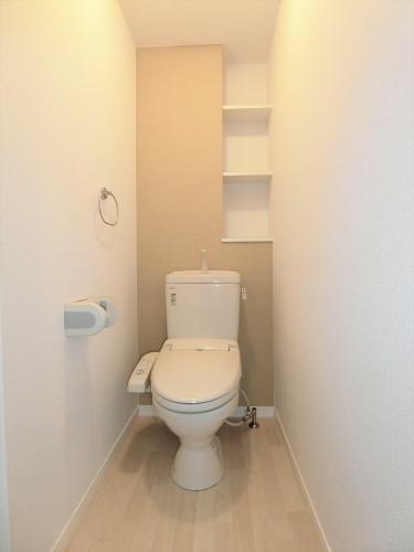 ステラコート宿 / 203号室トイレ