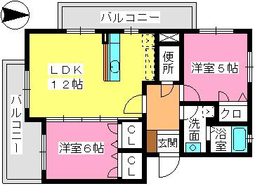 アーザン・ワイ / 301号室間取り