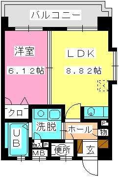 ヴァン21 / 401号室間取り