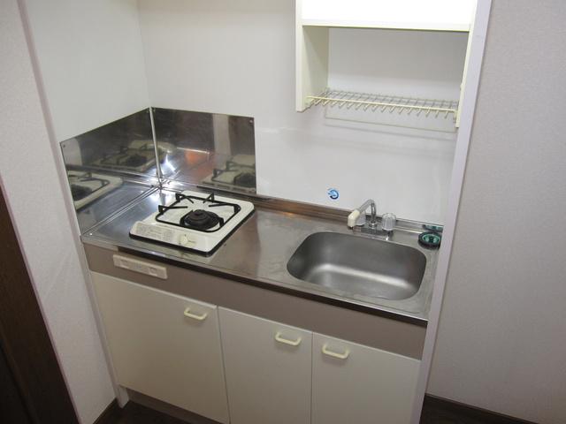 ライフコート篠原 / 202号室キッチン