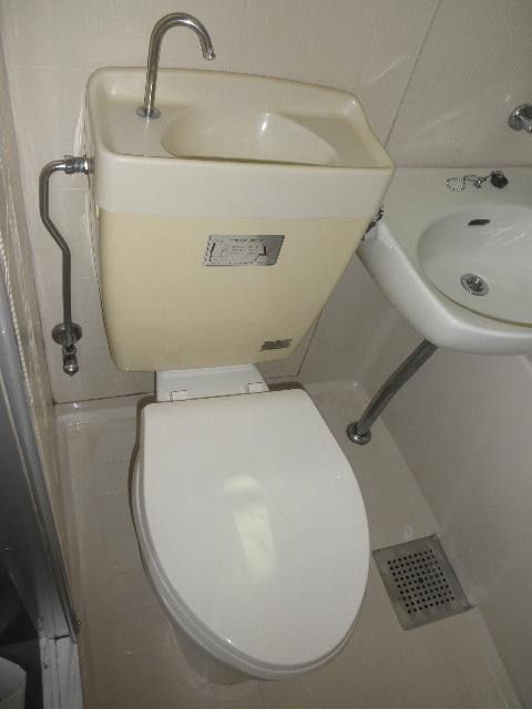 サンライズ梅光園 / 105号室トイレ