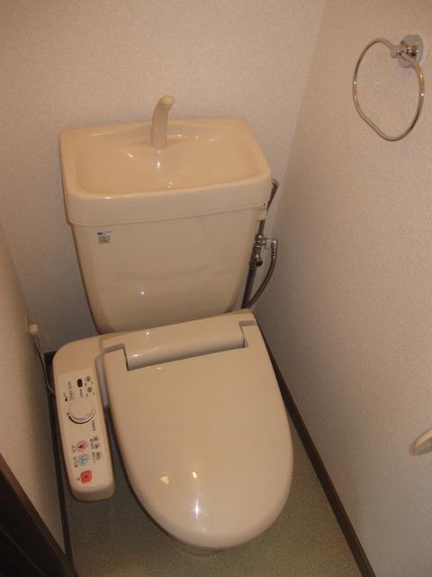 ライフコート篠原 / 202号室トイレ