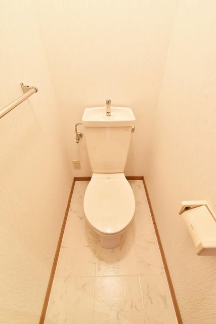 ラヴィタ城南B・C / C-205号室トイレ