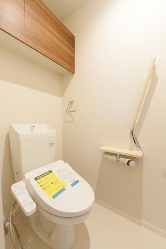 サンソレイユ紀文 / 201号室トイレ