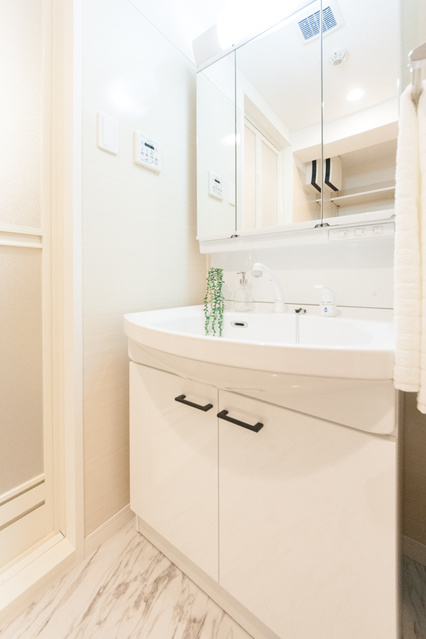 仮称)ピノコーダカーサ / N-302号室洗面所