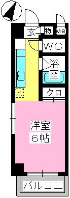 プレミール博多 / 605号室間取り