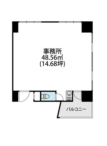 プレミール ホサカ / 302号室間取り