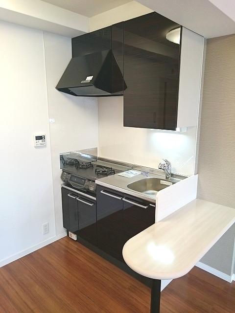 トラント・ドゥ博多 / 302号室キッチン