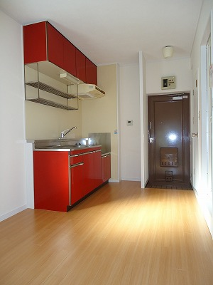エクセレント岩瀬 / 302号室キッチン