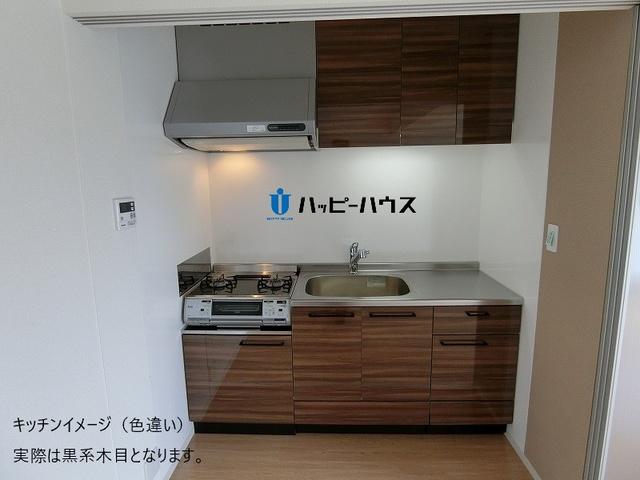 仮称)LIBERTY R TENJIN / E-202号室キッチン