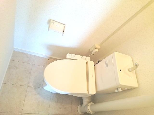 銀水ビル / 406号室トイレ
