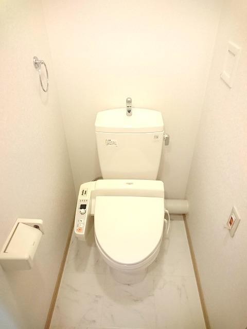 ローヤルマンション博多駅前 / 806号室トイレ