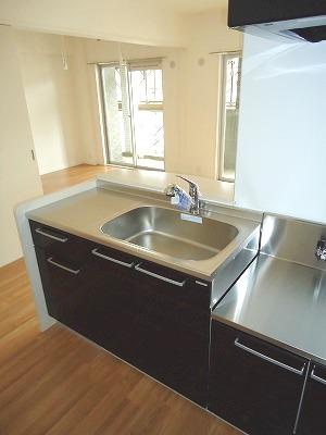 イースト フィールド那の川 / 802号室キッチン