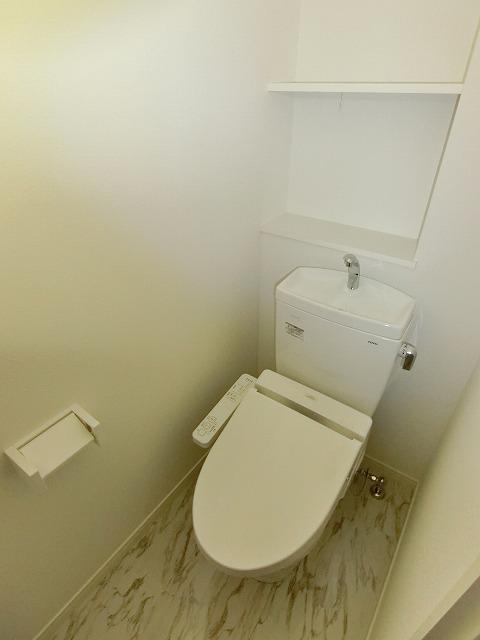 ヒルズ薬院(ペット可) / 202号室トイレ
