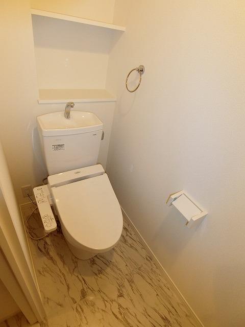 ヒルズ薬院(ペット可) / 302号室トイレ