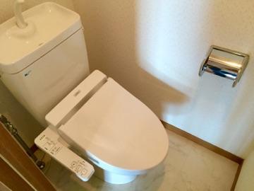 ユニティ美野島 / 403号室トイレ