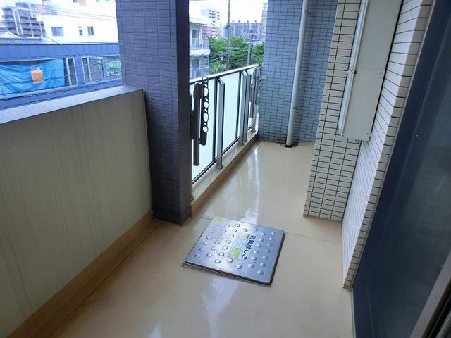 チュリスK1 / 501号室バルコニー