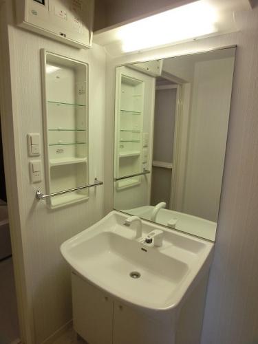 プレミール ホサカ / 802号室洗面所
